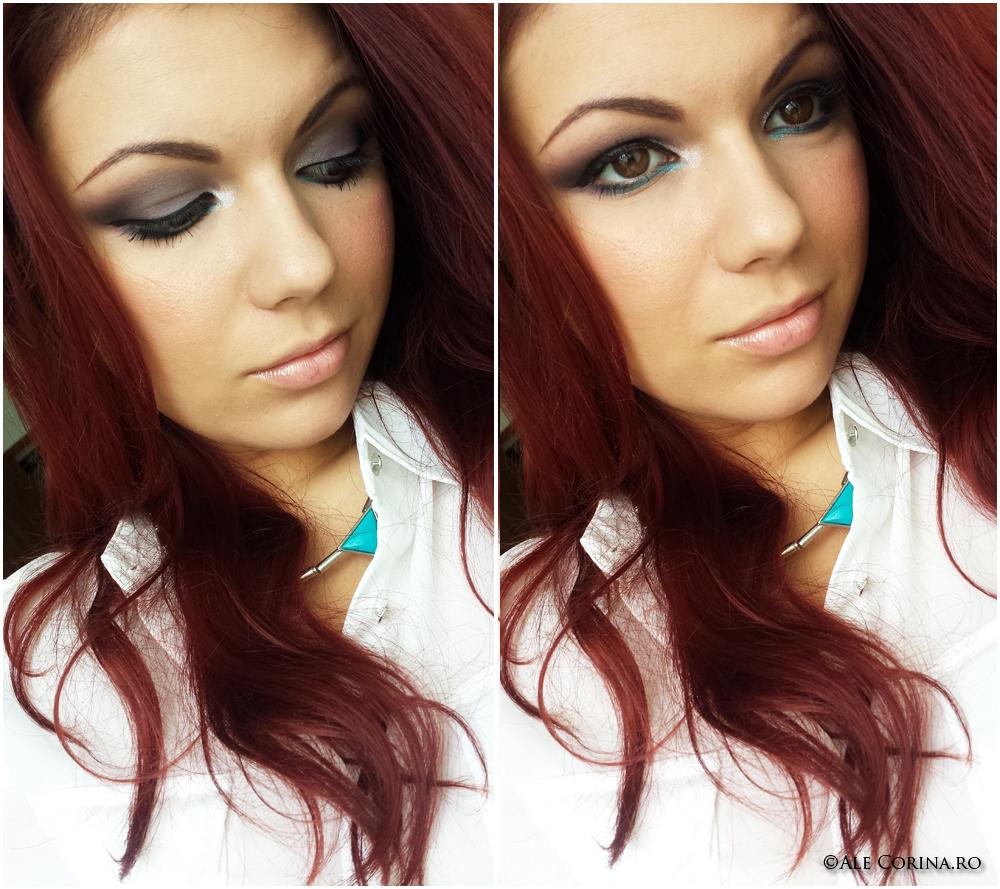 Dusty Purple Make-up Fall