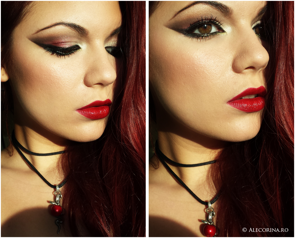 Sexy Vampy Make-up Look