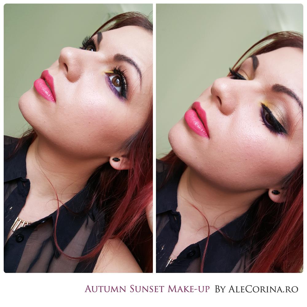 Autumn Sunset Make-up