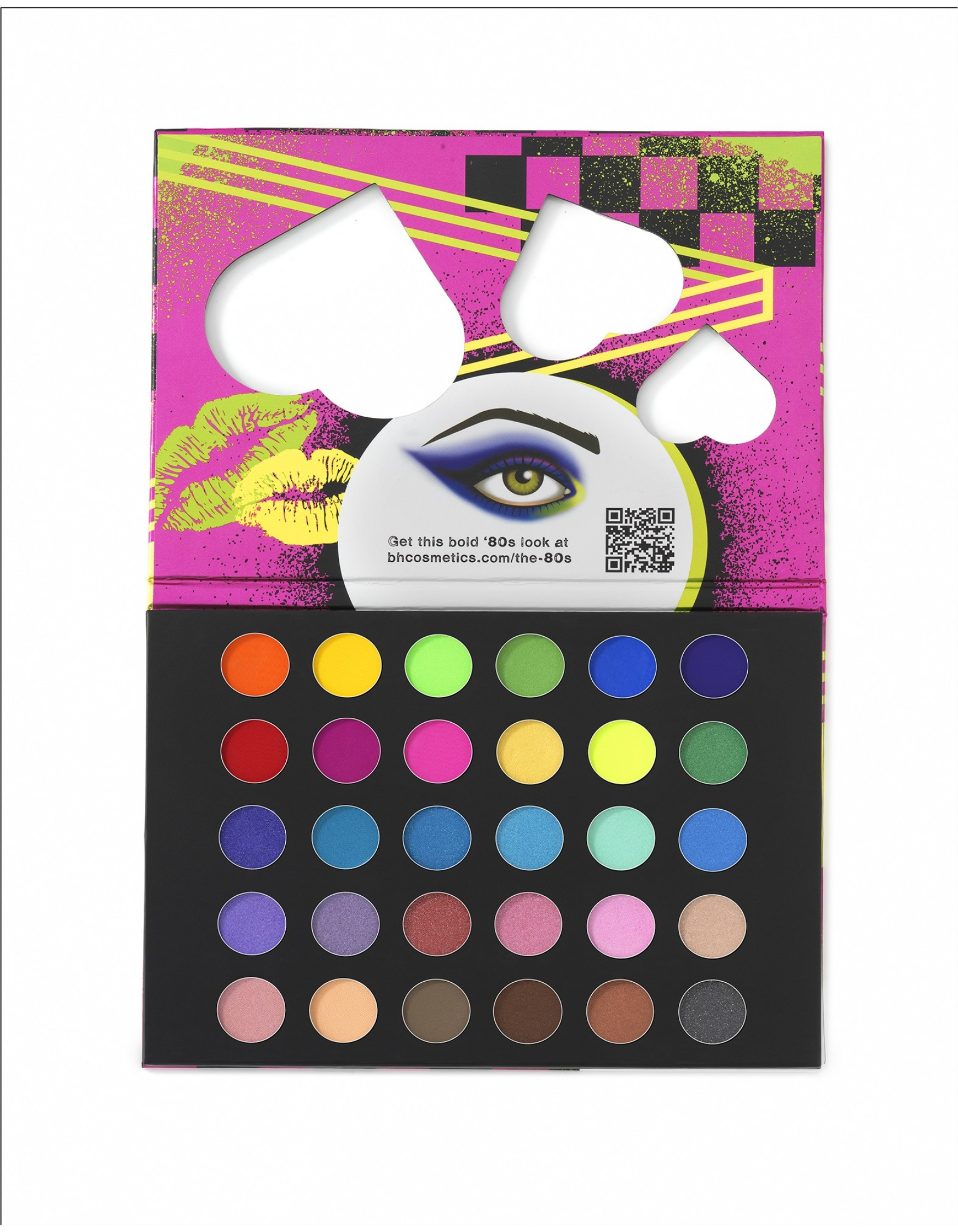 Bh Cosmetics Eyes on the 80\'s Palette