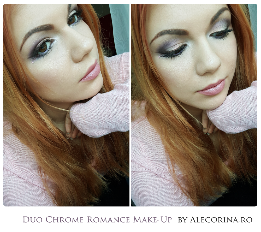 Duo Chrome Romance Make-up look Full Face