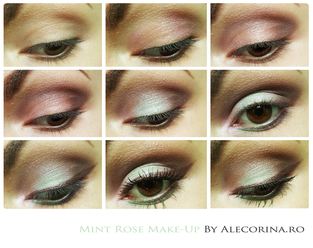 Mint Rose Make Up Chart