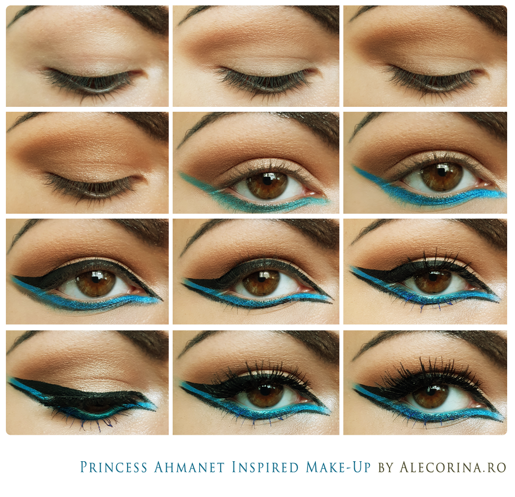 Princess ahmanet inspired make up the mummy movie ale corina art princess ahmanet inspired make up step by step chart geenschuldenfo Gallery